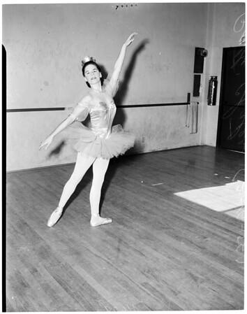Sadler Wells ballet protege, 1956