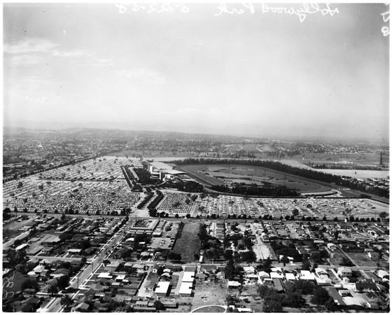 Hollywood park, 1958