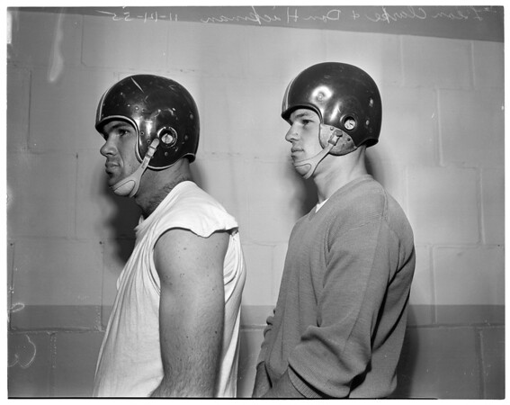 Players for University of Southern California, 1955