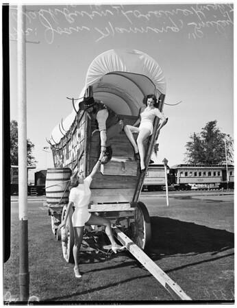 11 images. Last Frontier Village, 19 October 1951.