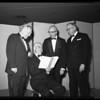 University of California, Los Angeles alumni banquet, 1956