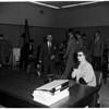 Hayward pre-divorce hearing, 1954