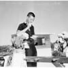 Hearst Golf Tournament Scorers, 1955