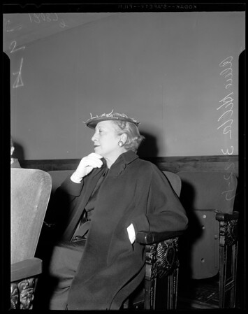Will contest, 1957