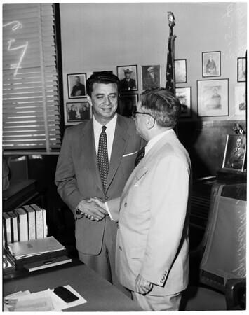 New Los Angeles County Vice Squad head, 1954