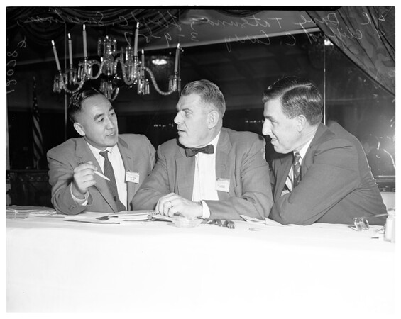 YMCA council meeting, 1957