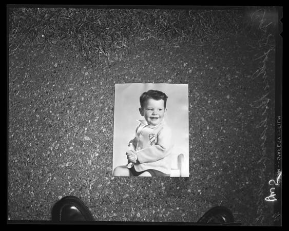 Missing boy (John Sandoval), 1956