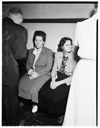 Orphans mistreated story (Santa Ana Jail), 1951