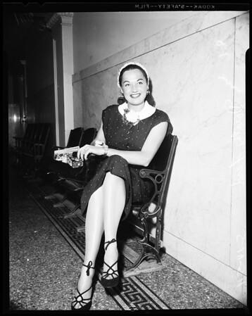 Bunko Trial, 1954