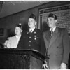 American Legion meeting, 1954