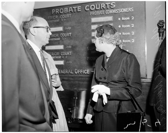 Custody case, 1957