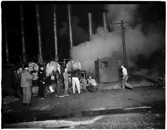 Oil field boiler explosion (Signal Hill), 1951