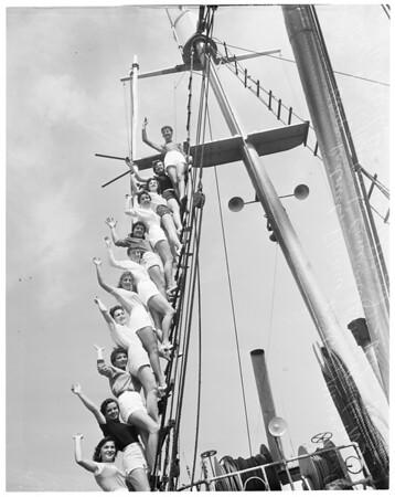 Fishermen's Fiesta in San Pedro, 1955