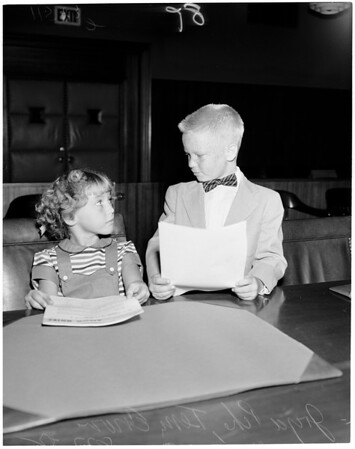 Martinez Kidnapping Hearing, 1955.
