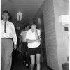 Narcotics raid (all faces are hidden), 1960