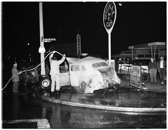 Traffic ...Avalon Boulevard and ManchesterAvenue, 1951