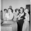 Joe E. Brown grandchildren christening, 1954