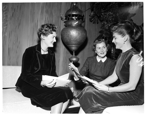 """Society"" -- UCLA Tenth Reunion, 1955"