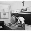 School vandalism, 1953