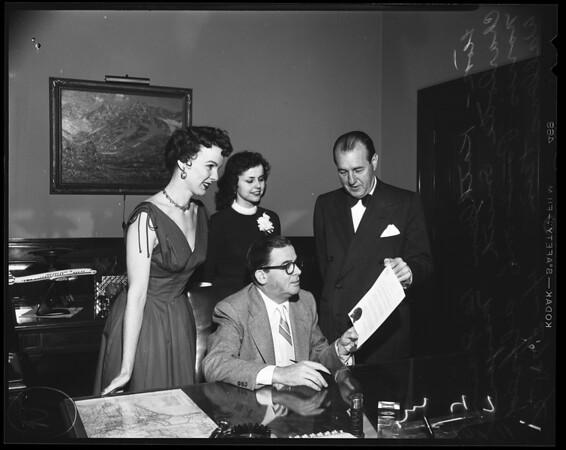 Music week, 1954