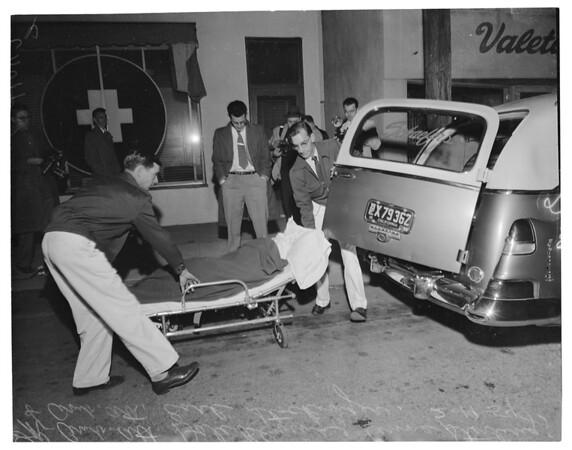 Sleeping pills, 1954