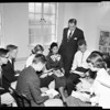 Presbyterian youth meeting, 1957