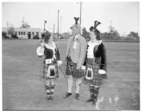 Scottish Highland gathering, 1953