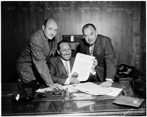 Bonelli moves into his office (supervisor), 1958