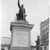 Statue of Stephen M. White (Civic Center), 1954