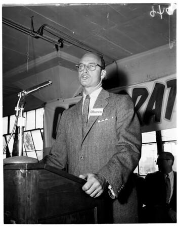 Democratic primaries, 1954