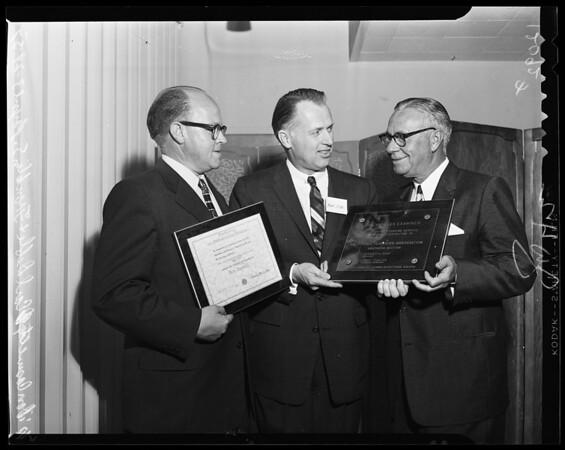 Communication Award, 1957