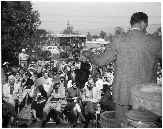 James J. Jeffries auction, 1954