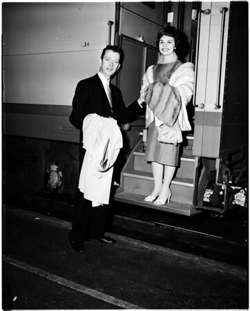 Arrival at Union Station, 1958