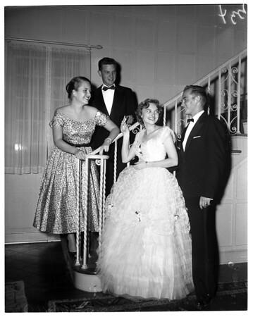 """Society"" -- Bishop's Ball, 1955"