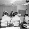 Educational television at Los Angeles City College, 1957
