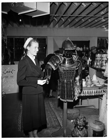 Antique show (Glendale Civic), 1953