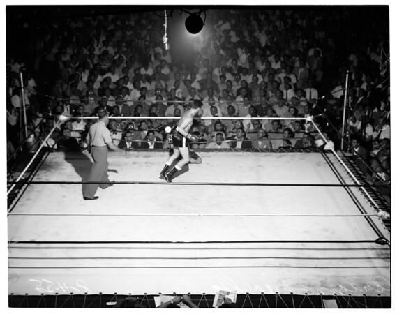 Aragon fight, 1955