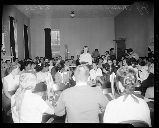 Gardena Youth Conference (Spring Conference of Southern California Youth Association), 1954