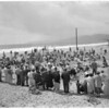 Easter egg hunt at Ocean Park, 1957