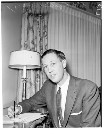 New general manager of the Rams, 1957