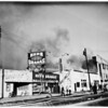 Fire at 1035 North La Brea, Hollywood, 1951