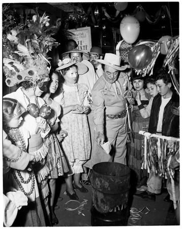 Olvera Street Festival, 1954