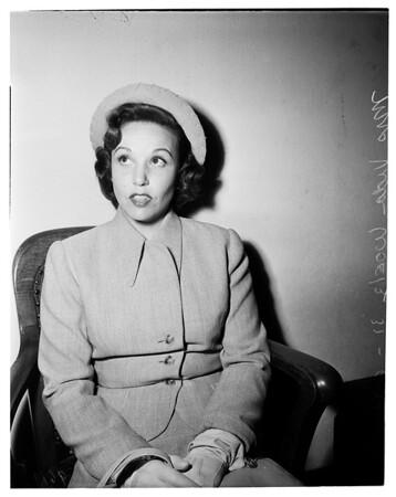 Temporary alimony, 1952