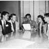 Safety meeting (High Schools), 1954