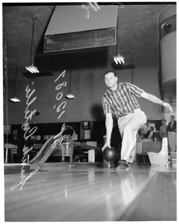 Bowling 300 game, 1957