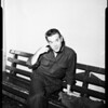 Narcotic suspect, 1954