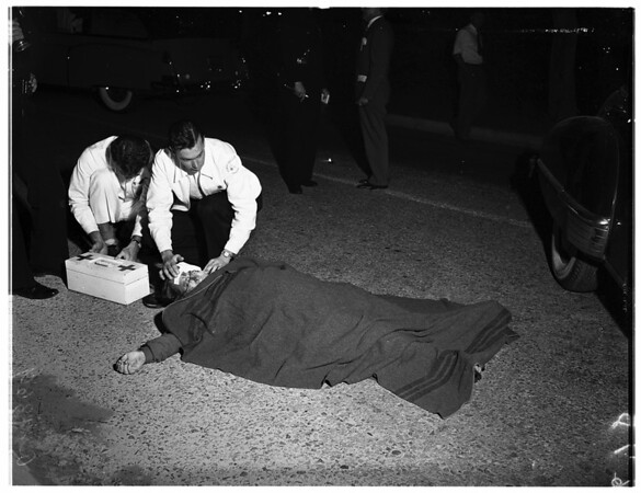 Cass Daly maid killed, 1951