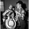 Musical plumber, 1954