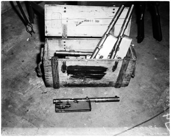 Cuban guns, 1958
