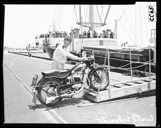 Motorcycle Sailor, 1960